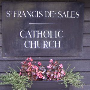 St Francis de Sales notice board